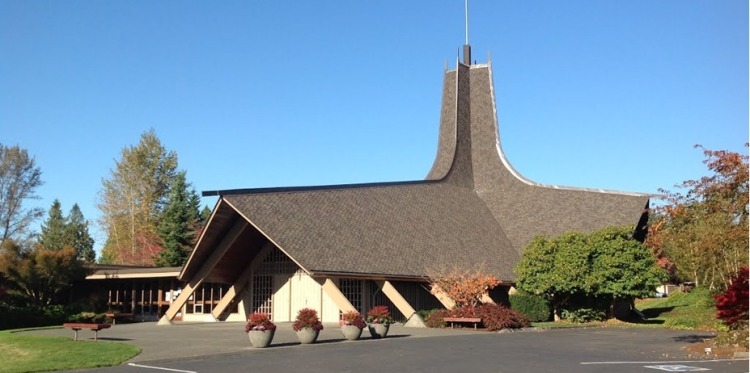 Photo of the outside of First Presbyterian Church of Snohomish